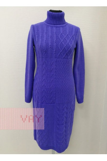 Платье женское 182-2333 Фемина (Фиолетовый)