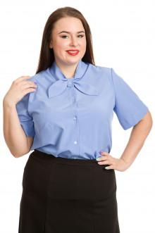 Блузка 741 Luxury Plus (Голубой)