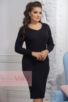 Платье женское 2285 Фемина (Мокрый асфальт)