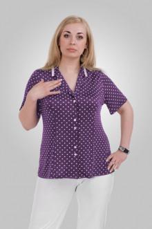 "Блуза ""Олси"" 1310010.2 ОЛСИ (Сиреневый)"