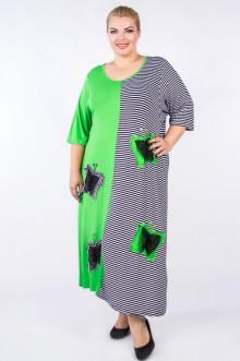 "Платье ""Артесса"" PP01003STR46 (Салатовый)"